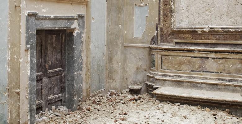 2010-03-03, LAquila, Santa Maria Paganica | Fotografia di A. Sarti